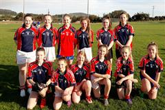 1st year girls football blitz